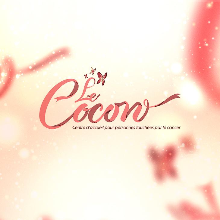 Réalisation d'un logotype pour l'association Le Cocon.