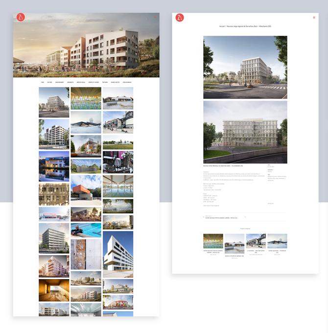 Site internet Z-architecture